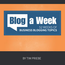 Blog a Week Cover